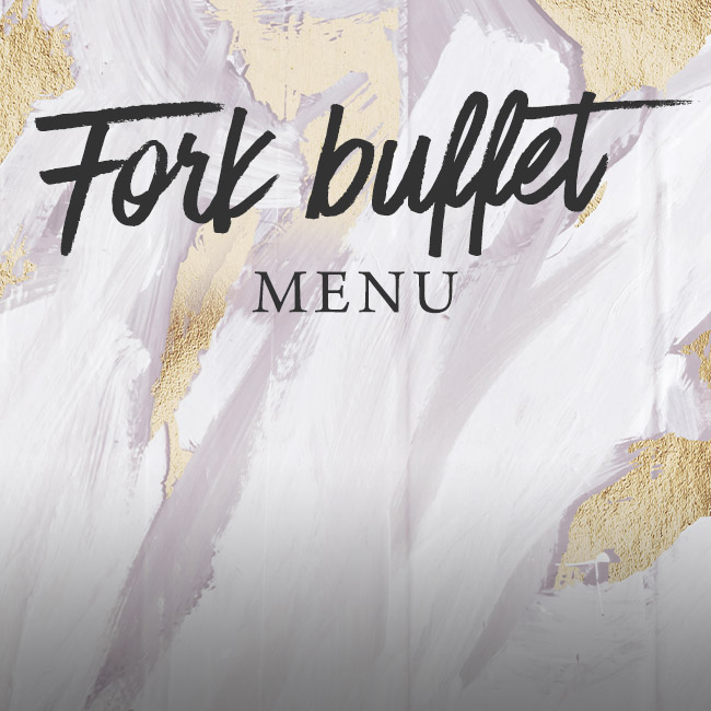 Fork buffet menu at The Swan