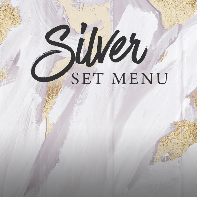 Silver set menu at The Swan