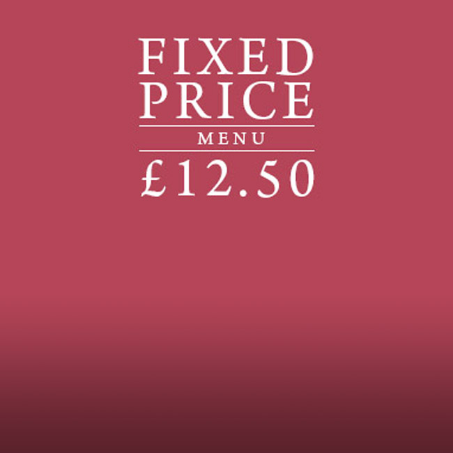 Fixed Price Menu at The Swan